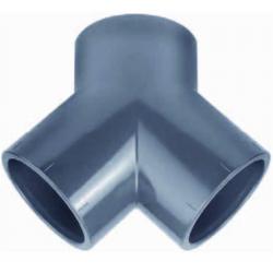 RACCORD Y PVC PRESSION  50MM