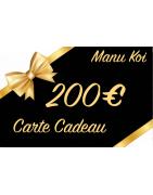 CARTES CADEAU 200€